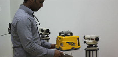 LASER AND RECEIVER CALIBRATION AND SERVICE
