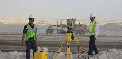 TOTAL STATION SURVEYOR  TRAINING