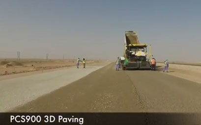 PCS900 Paving System in Oman