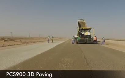 PCS900 Paving System in Oman